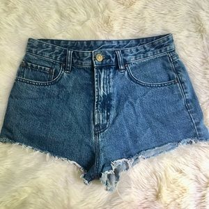 Urban Outfitter Dolphins Cheeky Jean Denim Shorts